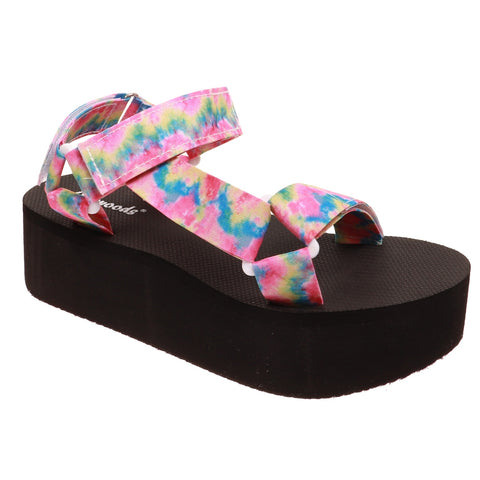 Outwoods Wedge Pastel Sandal