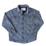 Rock Monkey Charcoal Quilted Jacket