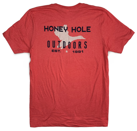 Honey Hole Red Duck T-Shirt