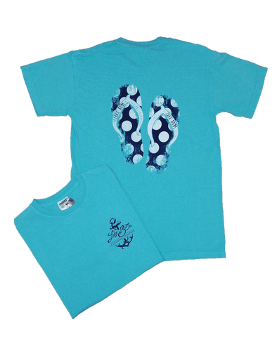Lake Bum Flip Flops T-Shirt