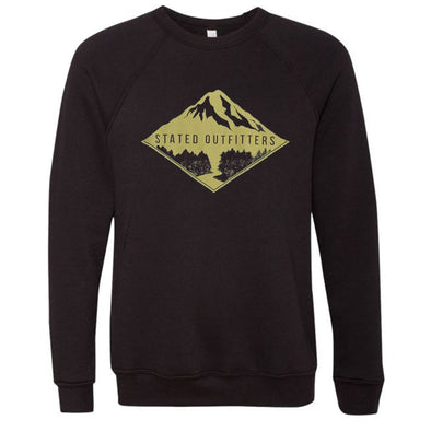 Stated Outfitters Gold mountain black Sweatshirt