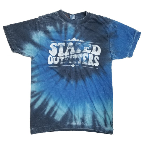 Stated Outfitters Blue Tie-Dye Tee