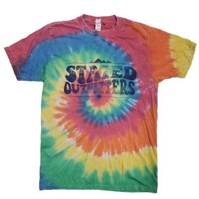 Stated Outfitters Rainbow Tie-Dye T-Shirt