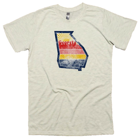 Georgia Retro Sunset T-Shirt