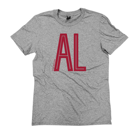 Alabama Tall Initials T-Shirt