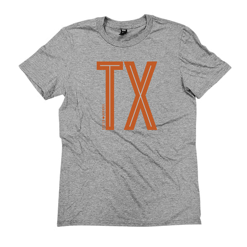 Texas Tall Initials T-Shirt