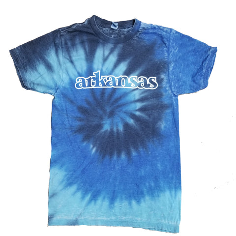 Arkansas Sea Tie-Dye T-Shirt