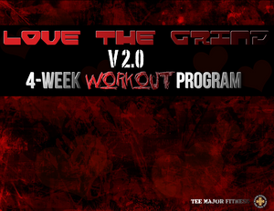 LOVE THE GRIND v2.0 (4 WEEK BODYWEIGHT PROGRAM)