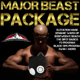 MAJOR BEAST PACKAGE (ALL PROGRAMS + ELEVATION TRAINING MASK 2.0)