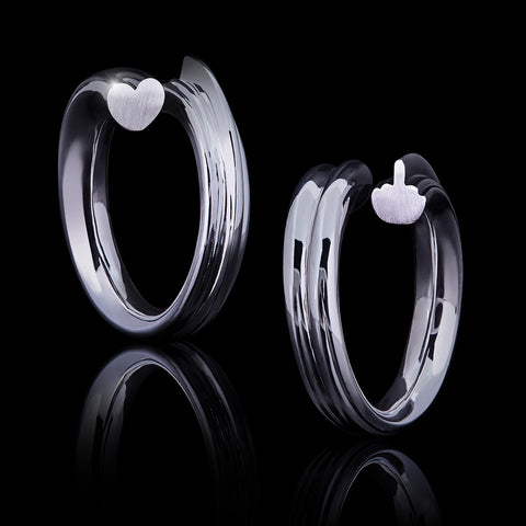 "Ring ""Love & Hate"""