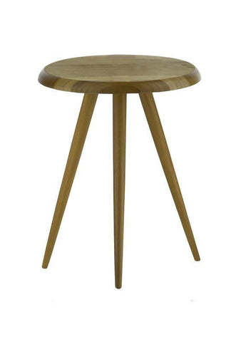 Dar 001WYC001 Wycombe Side Table Round Brown