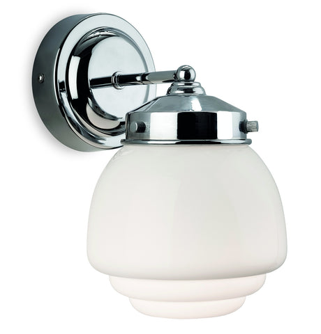 Firstlight Art Deco 4945CH Bathroom Wall Light IP44