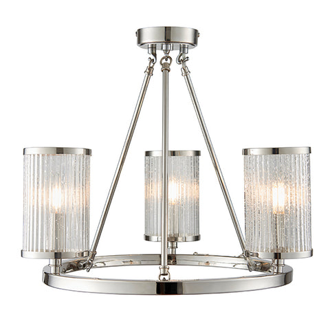 Endon 76261 Auria 3lt Semi Flush