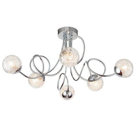 Endon 76349 Auria 6lt Semi Flush