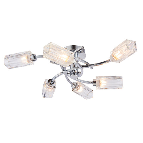Endon 76368 Zeus 6lt Semi Flush