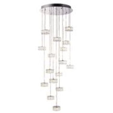 Endon 16 light Crystal Prisma Pendant 76486
