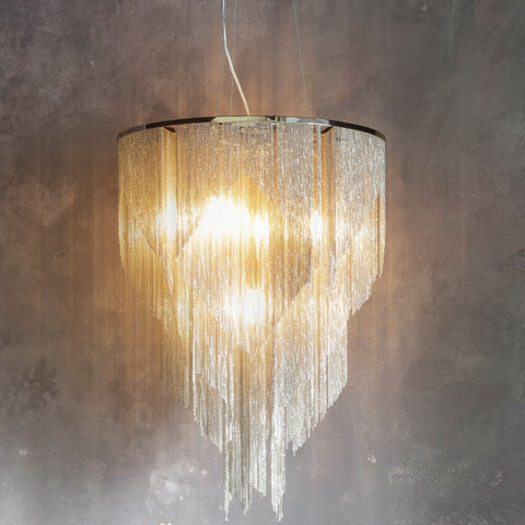 Endon 76512 Loire 7 light Pendant
