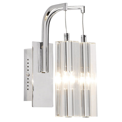 Dar GAL0950/LED Galileo Double Wall Bracket Polished Chrome LED