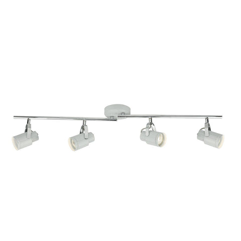 Dar ORK8439 Orkney 4 Light Bar Grey
