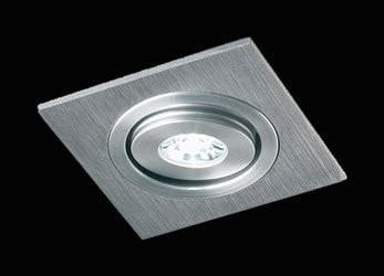 Collingwood DL130 Neutral White & Warm White 1W LED Tilt Square Downlight
