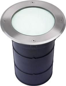 Collingwood GL007 Frosted 9W Large Groundlight With Frosted Glass, Straight To Mains