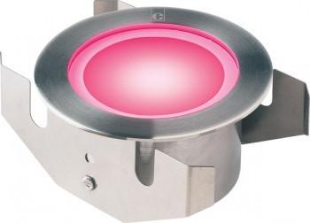 Collingwood GL050 RGBW Colour Changing Ground And Shower Light With Frosted Glass