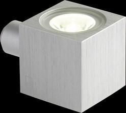 Collingwood MC010 S Decorative Mini Cube Single LED Wall Light