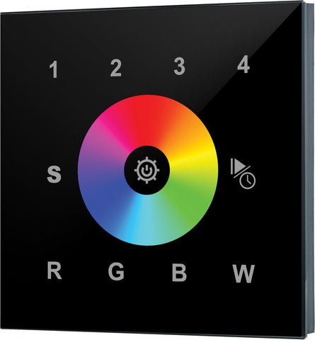 Collingwood WC2820BLK Wall Mounted RGBW Remote Controller For Colour Change