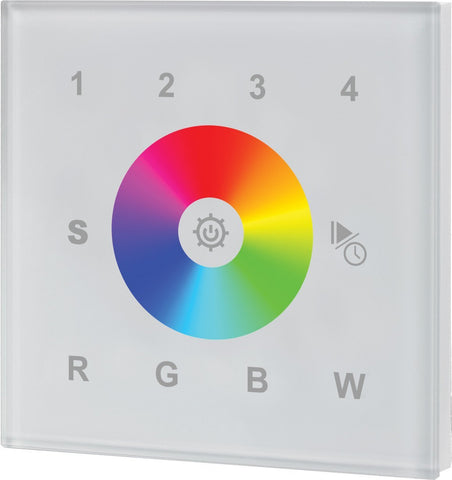 Collingwood WC2820WH Wall Mounted RGBW Remote Controller For Colour Change