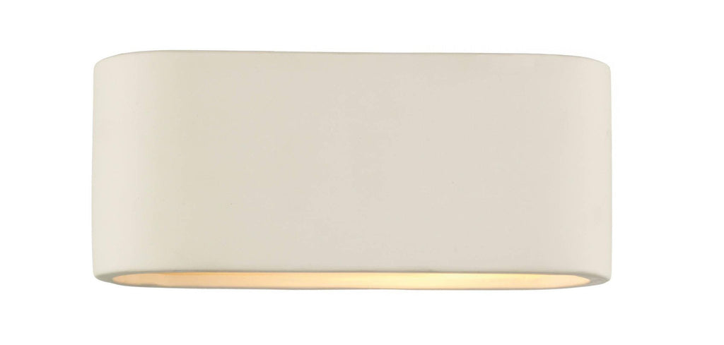 Dar AXT072 AXTON Ceramic Wall Light Small-DC Lighting Ltd