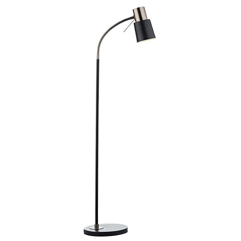 Dar BON4954 Bond Floor Lamp Black Copper