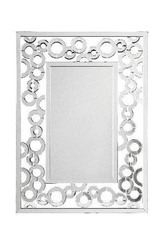 Dar Home 002CRE11080 Credo Rectangular Mirror 1100mm x 800mm