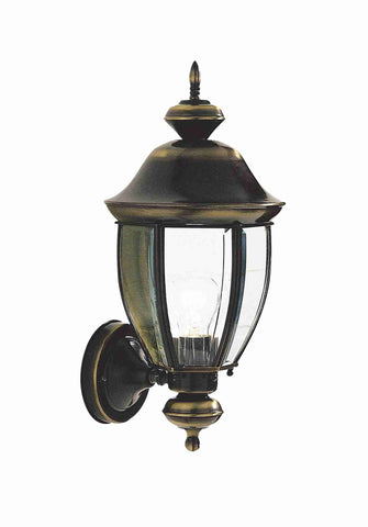 Dar LOD1640 LODGE Uplight Wall Bracket English Antique