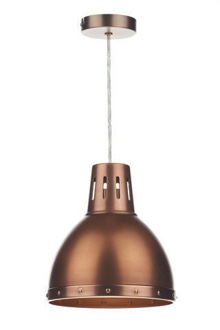 Dar OSA6564 Osaka Non Elec Pendant Antique Copper