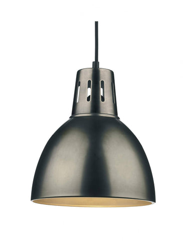 Dar OSA8661 OSAKA Non Electric Pendant Large Antique Chrome