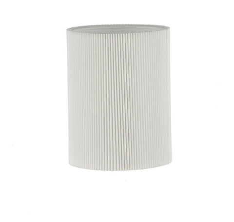 Dar S1068 TUSCAN Wall Bracket Shade In Micropleat Cream