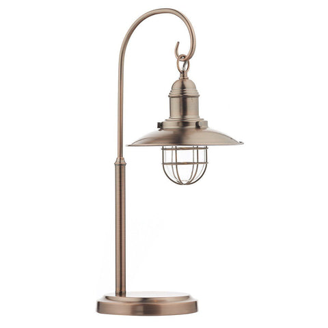Dar TER4264 Terrace Table Lamp Copper