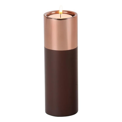Dar The India Collection 003M116004 Tea Light Holder Brown Copper