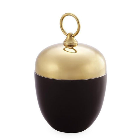 Dar The India Collection 003M116006 Candle Holder Black Gold