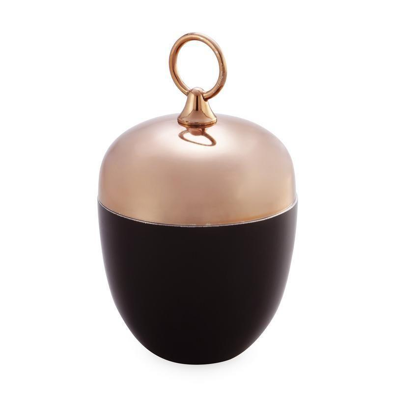 Dar The India Collection 003M116007 Candle Holder Black Copper-Dar Lighting-DC Lighting Ltd