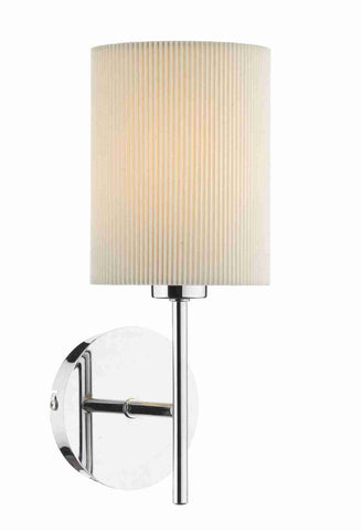 Dar TUS0750 TUSCAN Single Wall Light Base Only Polished Chrome