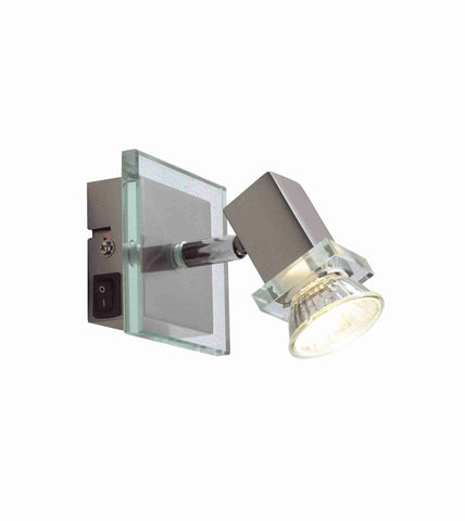 Dar Wisebuys SPI0746 Spirit Single Wall Bracket Satin Chrome