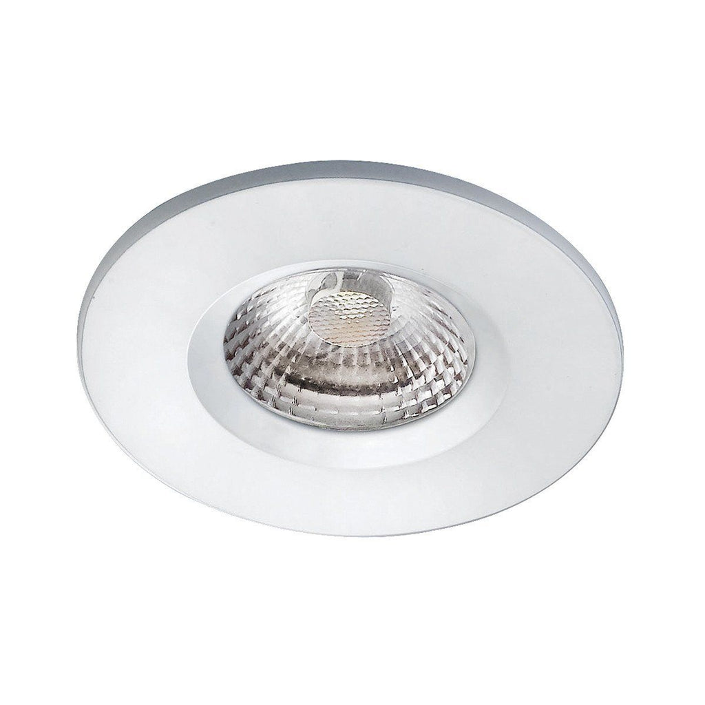 Dar Wisebuys VEG962 Vega 8W LED Downlight IP65 Fixed Head White-DC Lighting Ltd