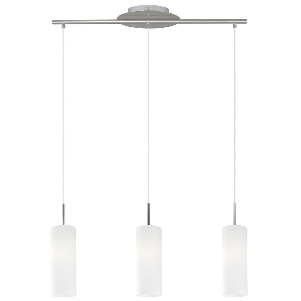 satinated fitting light and eglo glass white loncino steel with lighting chrome clear