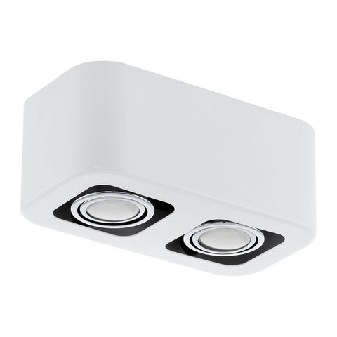 Eglo Lighting 93012 TORENO DL/2 GU10-LED WEISS/CHROM 'TORENO'