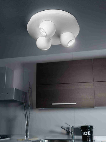 Eglo Lighting 93169 NORBELLO 3 3-light GU10 white 'NORBELLO 3'