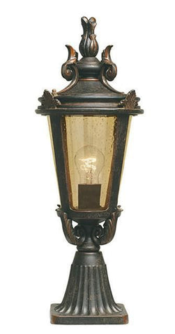 Elstead BT3/M Baltimore Pedestal Lantern Medium