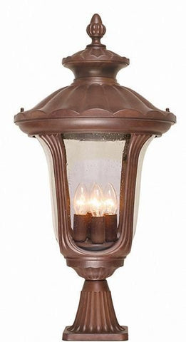 Elstead CC3/L Chicago Pedestal Lantern Large