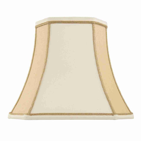 Endon Lighting CAMILLA-5.5 Camilla 5.5 inch Two-Tone Cream Faux Silk