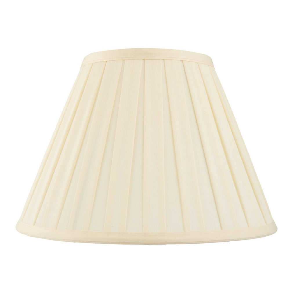Endon Lighting CARLA-14 Carla 14 inch Cream Fabric-Endon Lighting-DC Lighting Ltd